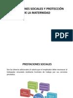 Licencia de Maternidad y Prestaciones Sociales