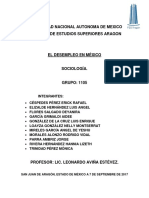 Desempleo en México - Métodos Sociológicos