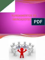 Fundamentos de Mercadotecnia 1a. Sesión