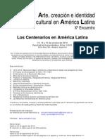 Segunda Circular Xº Encuentro América Latina