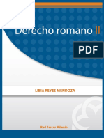 Derecho Romano II Libia Reyes Mendoza Red Tercer m