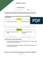 Multiplicacion y Division 5 a 8
