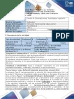 Guía de Actividades y Rúbrica de Evaluación - Fase 3 - Trabajo Colaborativo de La Unidad No 1