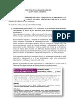 Respuesta a la Solicitud de Información - Business Model Innovation Consulting S.A.
