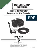 Manual Lavadora de Alta Pressao GONG V2.1