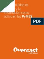 la continuidad de negocio y la informacion como activo en las pymes