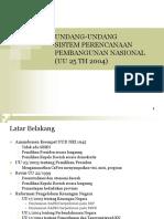 Materi Kuliah SPPN-UU 25-2004