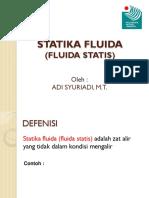 04 Fluida Statis
