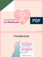 PPT Case CA Mammae