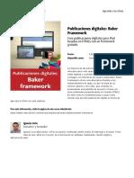 Publicaciones Digitales Baker Framework