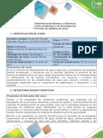Syllabus Del Cursos Sistemas de Abastecimiento de Agua(1)