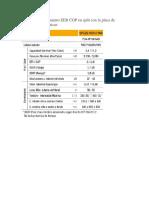 Cálculo Del Rendimiento EER COP en Split Con La Placa de Características Técnicas
