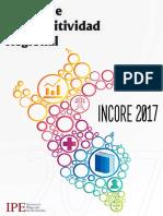 Indice de Competitividad Regional Incore 2017 Ipe