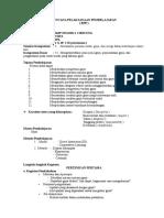 RPP IPA Kelas 8 (Smstr 2)