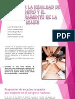 PROMOVER LA IGUALDAD DE GENERO Y EL EMPODERAMIENTO.pptx