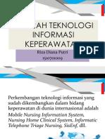 Sejarah Teknologi Informasi Keperawatan