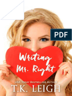 Writing Mr. Right - T.K. Leigh