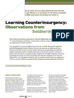 Learning Counterinsurgency