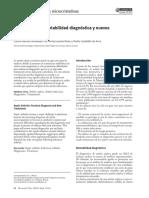 Artritis séptica. Rentabilidad diagnóstica y nuevos tratamientos 2008