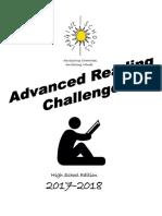 high school 2017-2018 advanced reading challenge  1