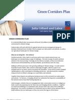Green Corridors - Fact Sheet