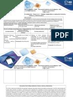 Guía de Actividades y Rubrica de Evaluación - Fases 2 y 3 – Trabajo Colaborativo y Evaluación Vectores, Matrices y Determinantes