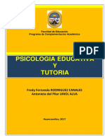 Psicologia Educativa y Tutoria 2017