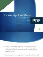 Desain Aplikasi Mobile