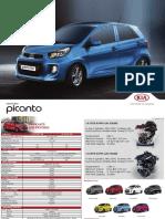Kia Picanto 2016 Brochure