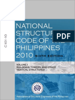 National Structural Code of the Philippines V1 6e 2010