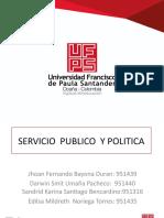 Que Es El Servicio Publico