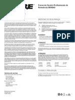 57082148eb66e Manual de Uso Shure SRH840-PO