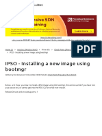 6.IPSO - Installing a New Image Using Bootmgr