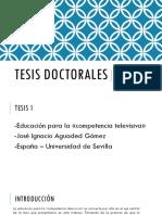 Tesis doctorales.pptx