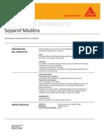 Separol Madera PDS