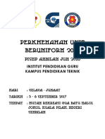 Buku Program Perkhemahan Unit Beruniform 2017