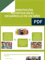Alimentación Nutritiva en El Desarrollo de Un Niño