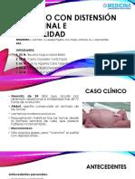 Neonato Con Distensión Abdominal e Irritabilidad