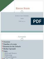 Enron Scam Analysis