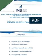 Inei Plan de Trabajo 2017 - Coteco- 12-12-2016