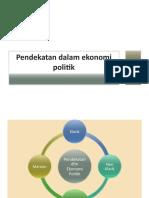 3-4 Pendekatan Dalam Ekonomi Politik