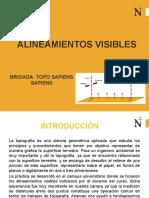 DIAPOSITIVAS ALINEAMIENTOS VISIBLES