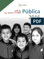 Cuenta Publica Cned 2016