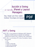Introducción a Java Swing, JFrame y JPanel