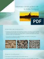 Materiales y Sistemas Constructivos de La India Antigua