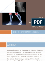 PCL's Avulsion Fracture