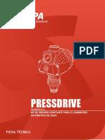 Ficha Técnica Pressdrive