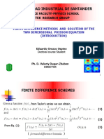 Section1 Finite Diference Laplace 2D