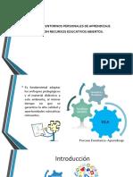 Entornos Personales de Aprendizaje y Recursos Educativos Abiertos