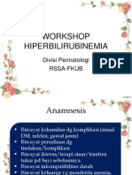 Workshop Hiperbilirubinemia